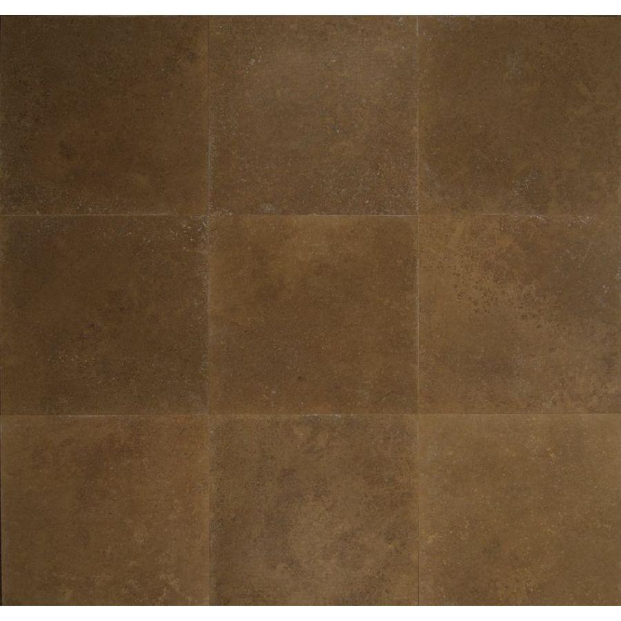 Bedrosians 18-in x 18-in Noce Travertine Floor Tile