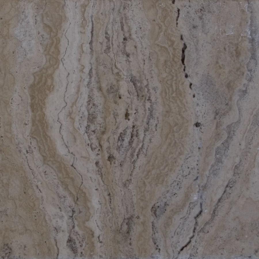 Bedrosians 12-in x 12-in Beige Travertine Floor Tile