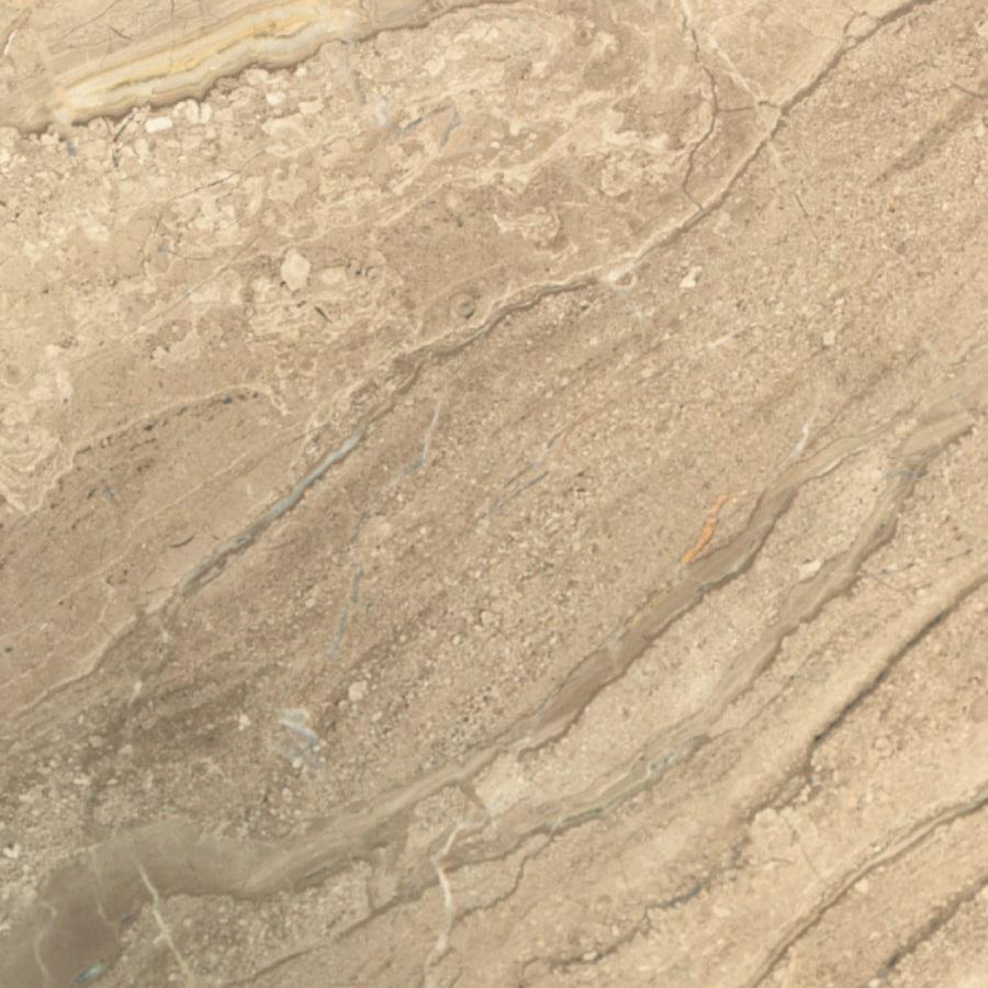 Bedrosians 12-in x 12-in Beige Marble Floor Tile