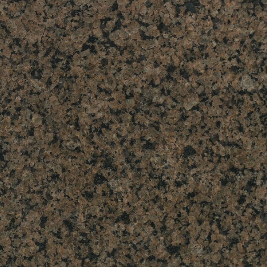 """Bedrosians 18"""" x 18"""" Tropic Brown Granite"""