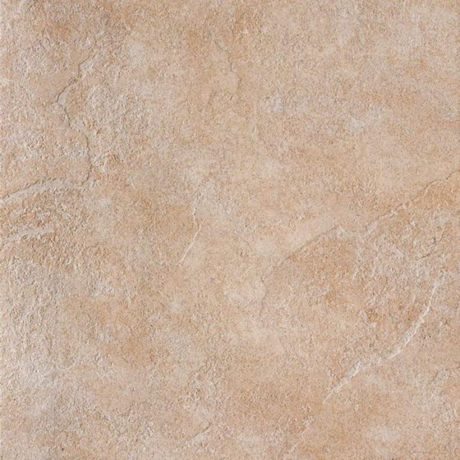 Bedrosians Eddie 6-Pack Almond Porcelain Floor Tile (Common: 20-in x 20-in; Actual: 19.68-in x 19.68-in)