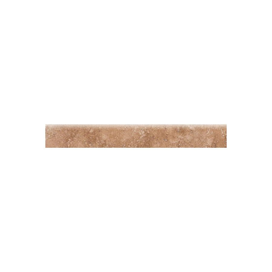 Bedrosians Roma Camel Porcelain Bullnose Tile (Common: 3-in x 20-in; Actual: 2.75-in x 19.75-in)
