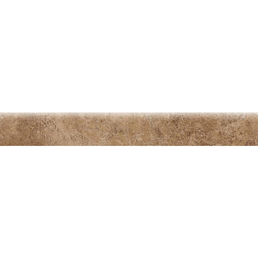 Bedrosians Fantasia Taupe Porcelain Bullnose Tile (Common: 3-in x 20-in; Actual: 2.75-in x 19.75-in)