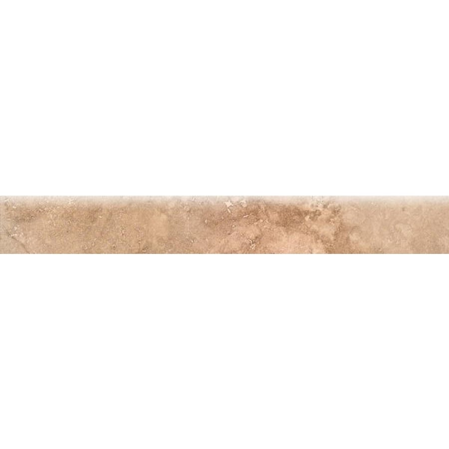 Bedrosians Roma Beige Porcelain Bullnose Tile (Common: 3-in x 20-in; Actual: 2.75-in x 19.75-in)