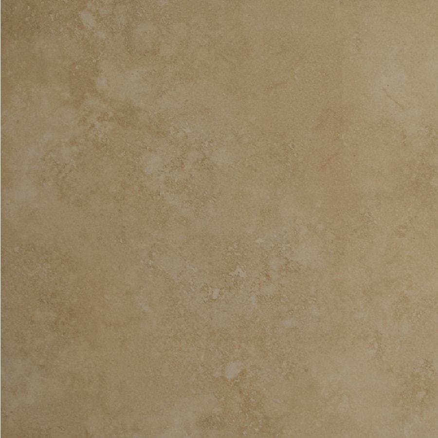 Bedrosians Roma 6-Pack Beige Porcelain Floor Tile (Common: 20-in x 20-in; Actual: 19.68-in x 19.68-in)