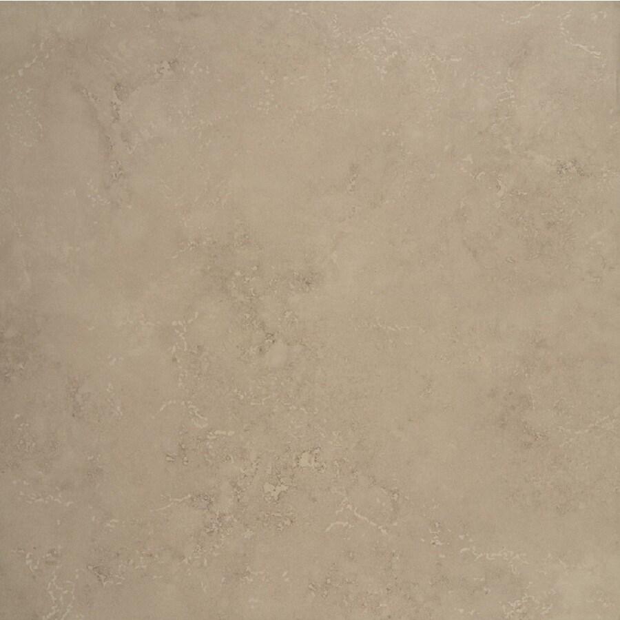Bedrosians 6-Pack VERONA Camel Glazed Porcelain Indoor/Outdoor Floor Tile (Common: 20-in x 20-in; Actual: 19.68-in x 19.68-in)