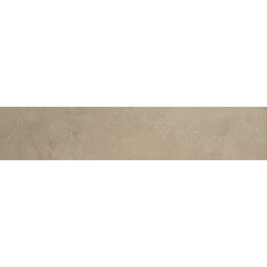 Bedrosians Verona Silver Porcelain Bullnose Tile (Common: 3-in x 20-in; Actual: 2.75-in x 19.75-in)