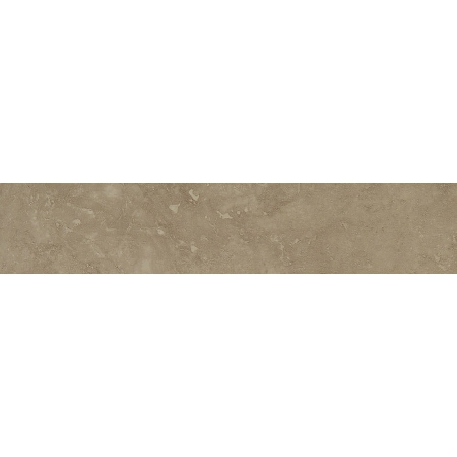Bedrosians Verona Taupe Porcelain Bullnose Tile (Common: 3-in x 20-in; Actual: 3-in x 20-in)