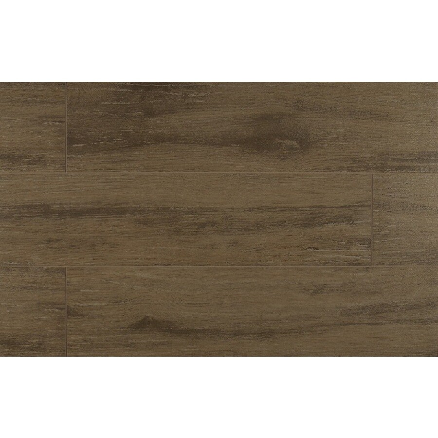 Bedrosians Prestige-Z 12-Pack Oak Porcelain Floor Tile (Common: 6-in x 24-in; Actual: 5.88-in x 23.75-in)
