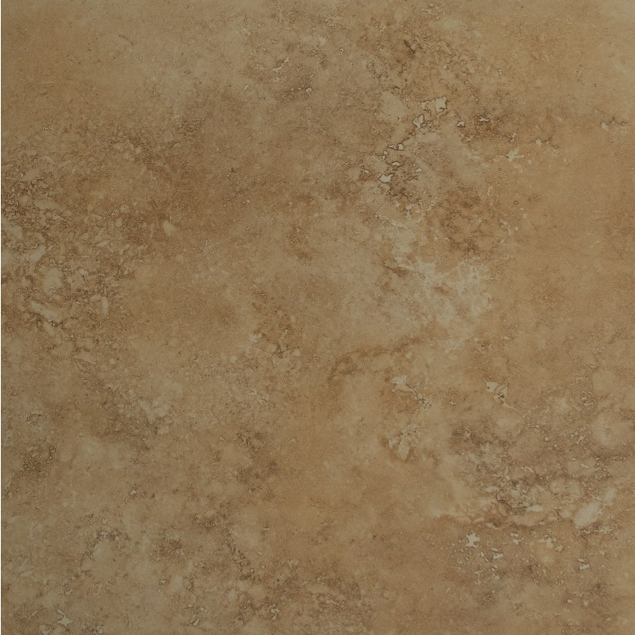 Bedrosians Roma Terra 6-Pack Camel Porcelain Floor Tile (Common: 20-in x 20-in; Actual: 19.68-in x 19.68-in)