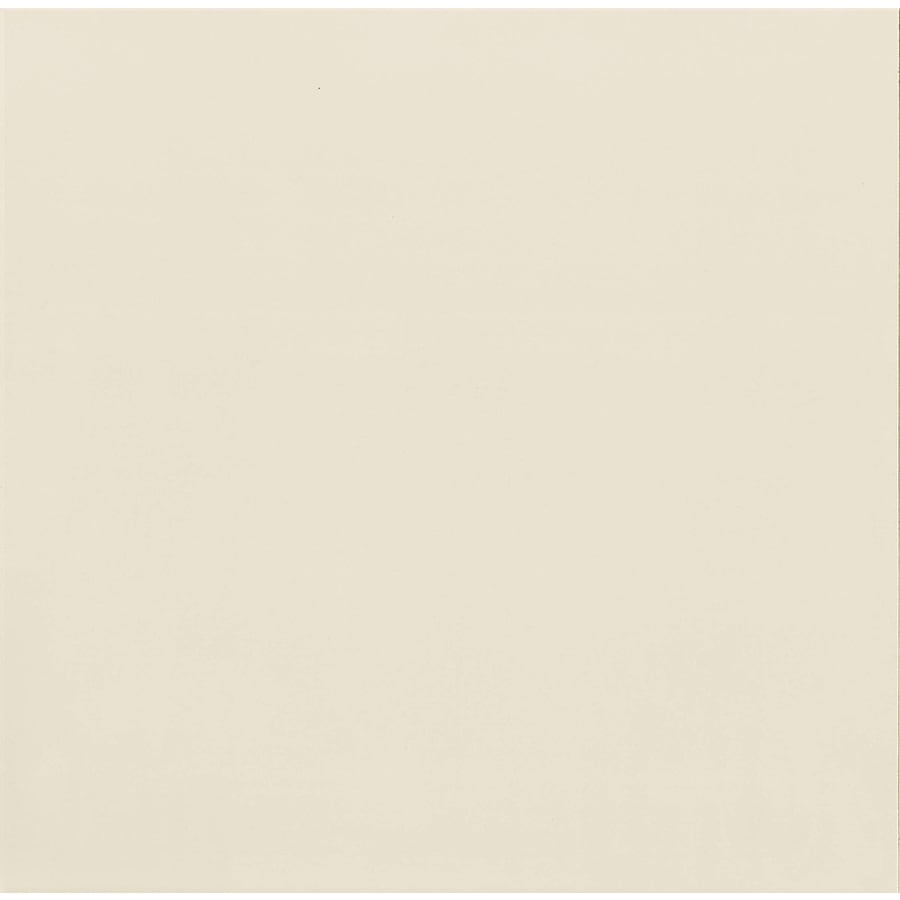 Bedrosians Polished 4-Pack White Porcelain Floor Tile (Common: 24-in x 24-in; Actual: 23.62-in x 23.62-in)
