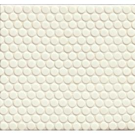Bedrosians 360 Pumice 12-in x 12-in Porcelain Penny Round