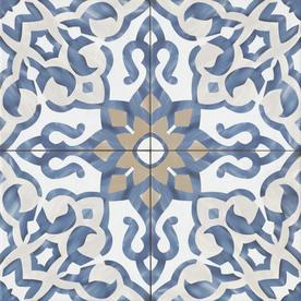 encaustic look tile at lowes com