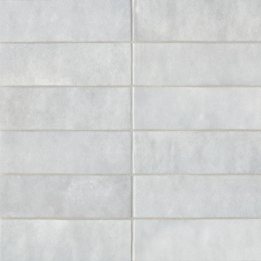 Bedrosians Cloe 76 Pack Grey Ceramic Subway Wall Tile Common 2 1