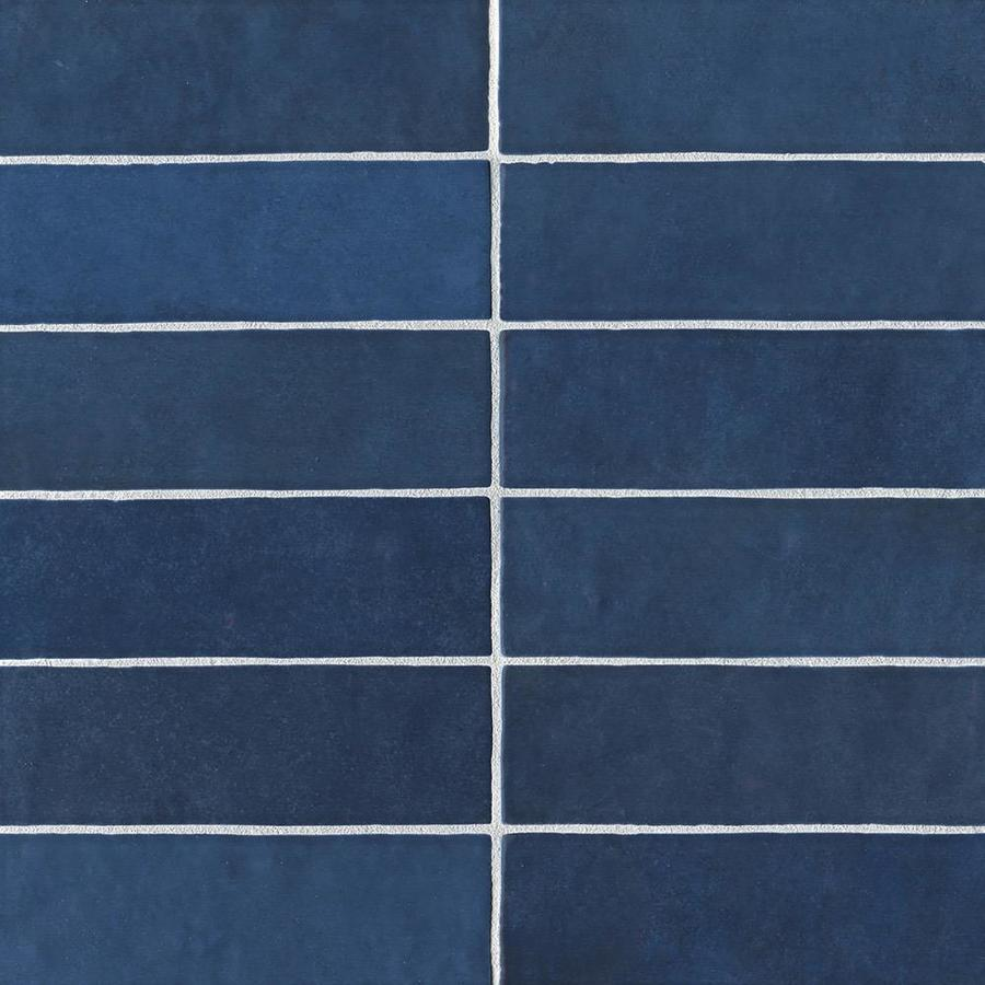 Bedrosians Cloe 76 Pack Blue 2 1 2 In X 8 In Ceramic