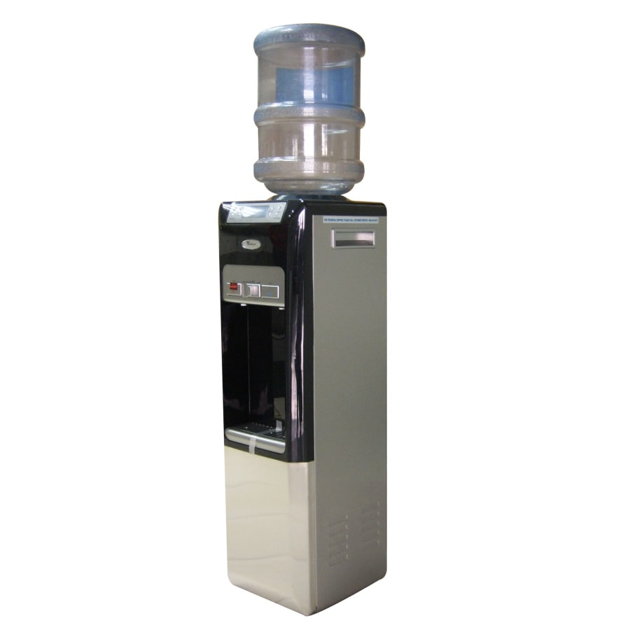 Shop Whirlpool Black Top Loading Cold And Hot Water Cooler