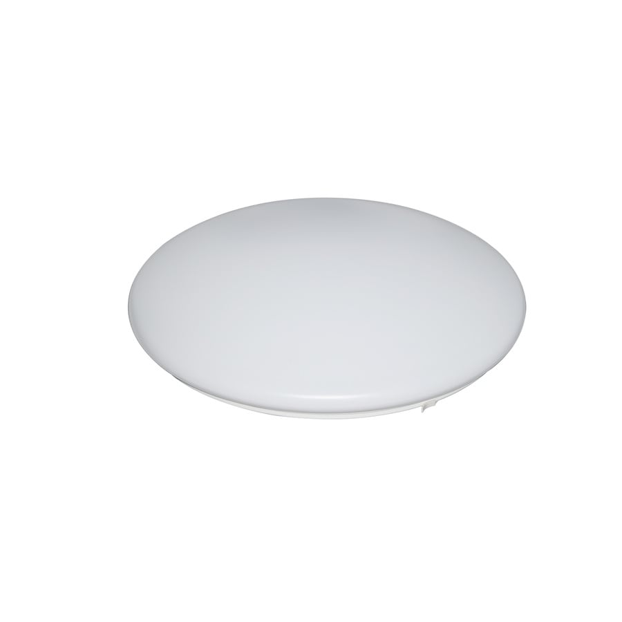 Utilitech 18.9-in W White Ceiling Flush Mount Light