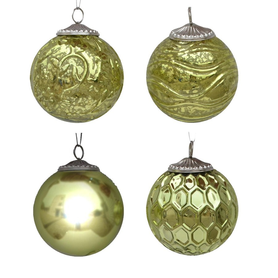 allen + roth Green Ornament Set Lights