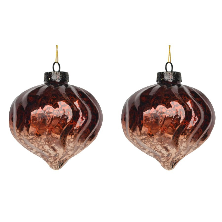 Holiday Living Brown Ornament Set Lights