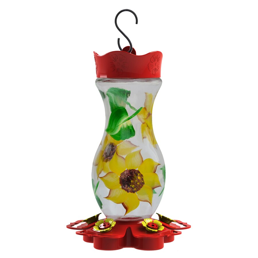Ordinaire Garden Treasures Glass Hummingbird Feeder