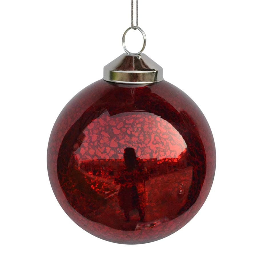 allen + roth Red Ornament Set