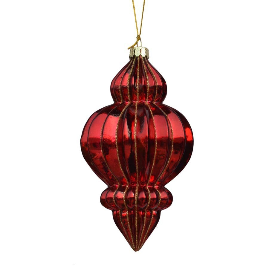 Holiday Living Red Ornament Set
