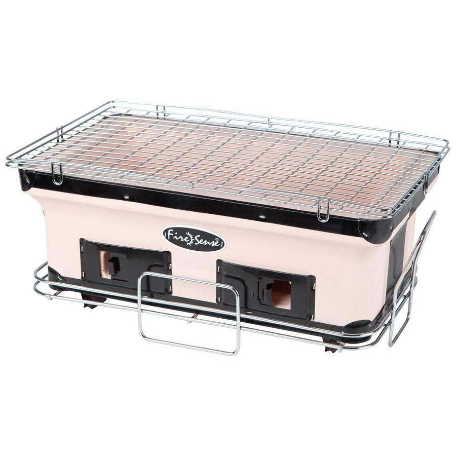 Fire Sense 181.6-sq in Tan Portable Charcoal Grill