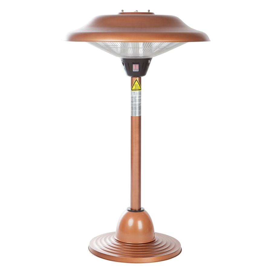 Well Traveled Living 5,118-BTU 110-Volt Copper Steel Electric Patio Heater