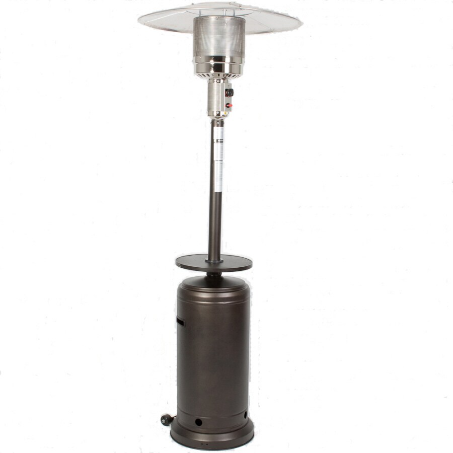 patio heater and watch steel stainless mocha commercial sense fire