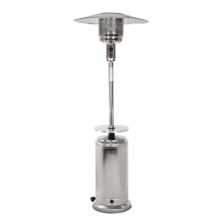Fire Sense 44,000-BTU Stainless Steel Floorstanding Liquid Propane Patio Heater