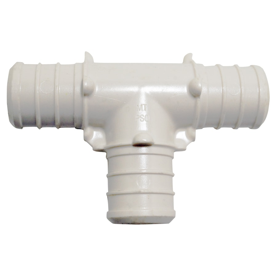 Apollo 2-Pack 3/4-in dia Brass/Plastic PEX Tee Crimp Fittings