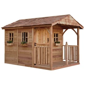 Outdoor Living Today (Common 8-ft x 12-ft; Interior Dimensions  sc 1 st  Loweu0027s & Shop Wood Storage Sheds at Lowes.com