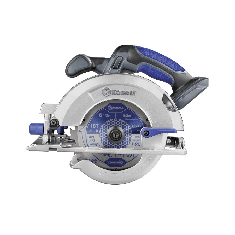Kobalt 18-Volt 6-1/2-in Cordless Circular Saw (Bare Tool Only)