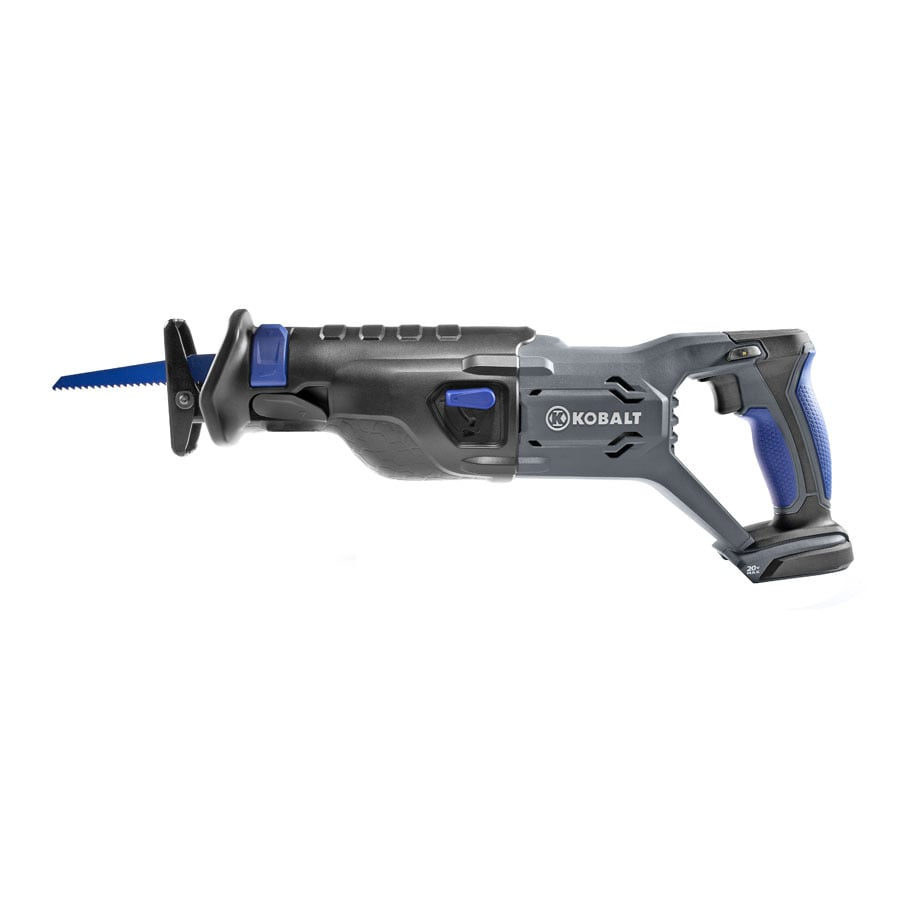 Kobalt 20-Volt Variable Speed Cordless Reciprocating Saw (Bare Tool)