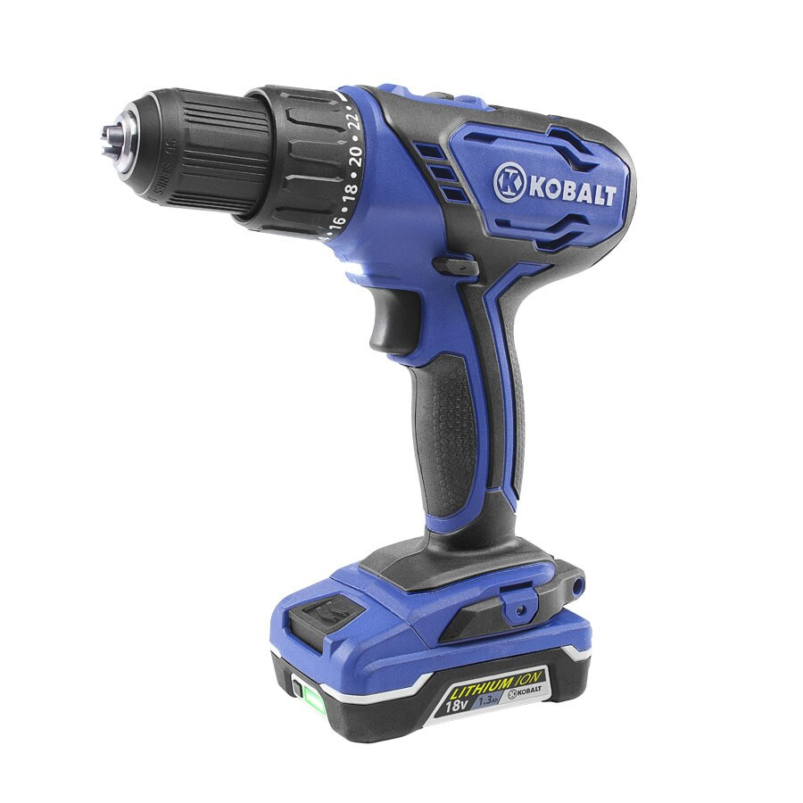 Kobalt 18-Volt 1/2-in Cordless Drill with Battery