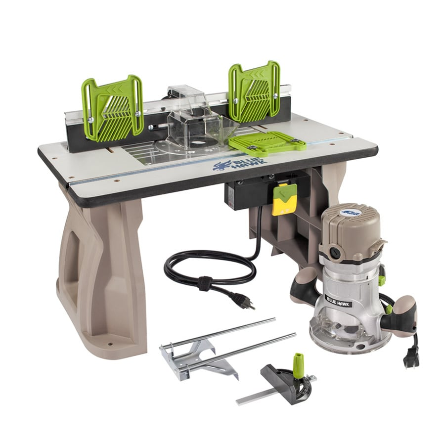 Shop blue hawk x adjustable router table at lowes blue hawk x adjustable router table greentooth Images