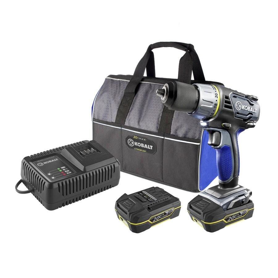 Kobalt 20-Volt 1/2-in Cordless Drill with Battery and Soft Case