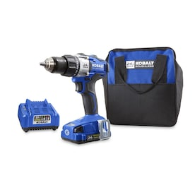 Kobalt 24-Volt Max 1/2-in Brushless Cordless Drill (Charger Included)