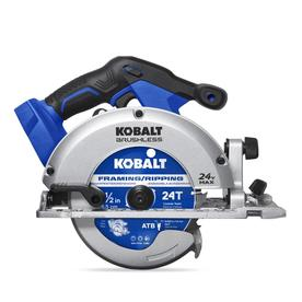 Kobalt 24-Volt Max 24-Volt Max 6-1/2-in Cordless Circular Saw with Brake and Metal Shoe (Bare Tool Only)