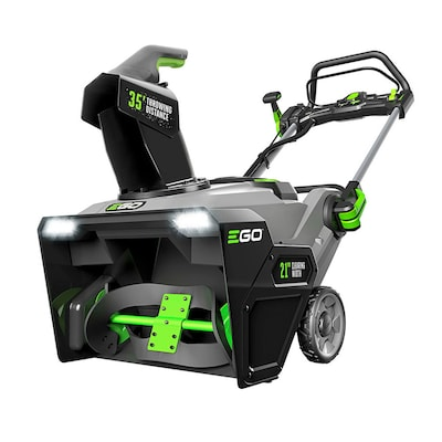 EGO POWER+ 56-Volt 21-in Single-Stage Cordless Electric Snow Blower (2-Batteries Included)