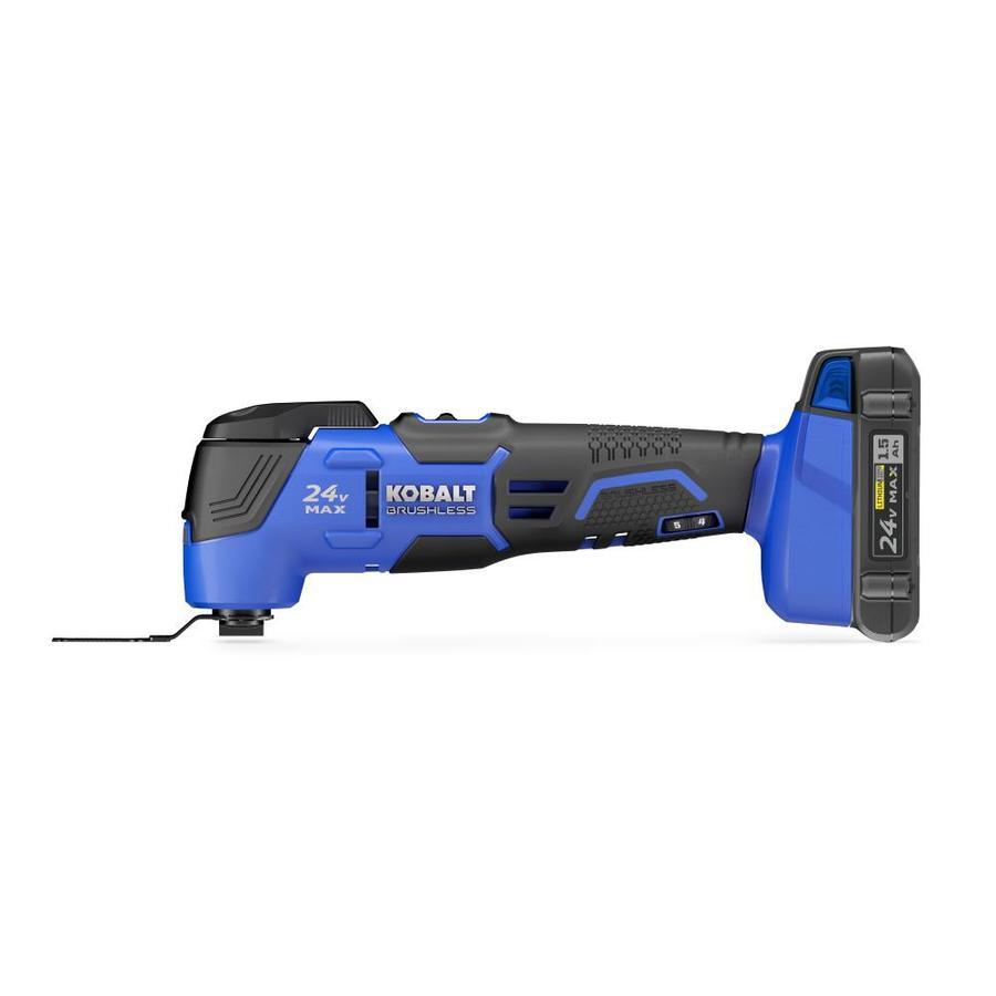 Kobalt 21-Piece Cordless 24-Volt Oscillating Tool Kit