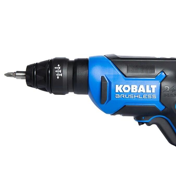 Kobalt Amps 24 Volt Lithium Ion Li Ion Brushless Screw Gun In The Screw Guns Department At Lowes Com