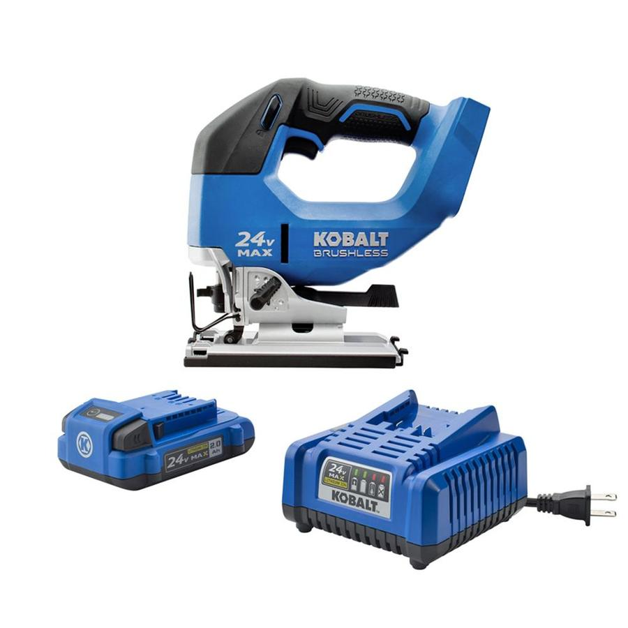 jig saw tool. kobalt 24-volt variable speed keyless cordless jigsaw battery included jig saw tool l