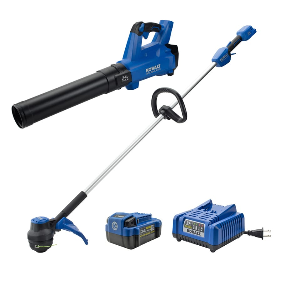 Kobalt 2 Piece 24 Volt Cordless Power Equipment Combo Kit