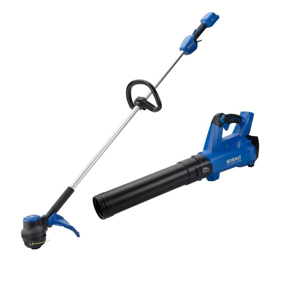 Kobalt BL 24-Volt Leaf Blower and String Trimmer Combo-Bare Tools