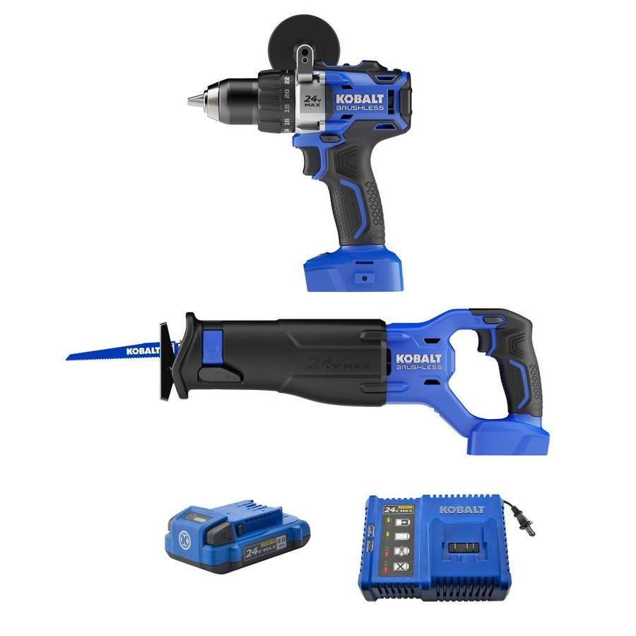 Kobalt 2-Tool 24-volt Max Lithium Ion Cordless Combo Kit