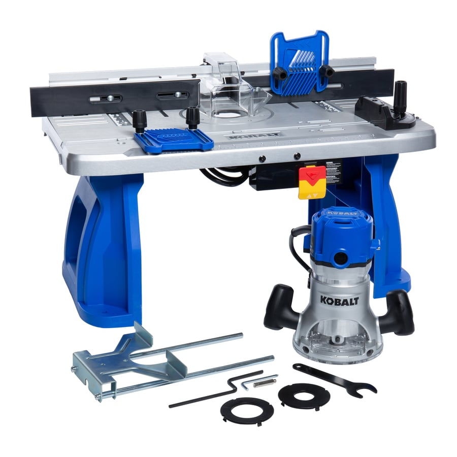 Shop kobalt fixed corded router with table included at lowes kobalt fixed corded router with table included greentooth Gallery