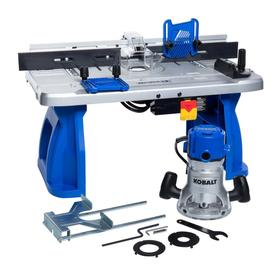 Kobalt Fixed Corded Router with Table Included and Case Included