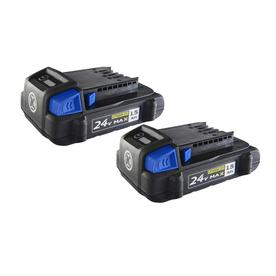 Kobalt 2-Pack 24-volt Max Lithium Power Tool Battery
