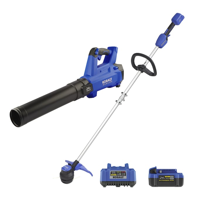 Kobalt 2-Piece 24-Volt Max Cordless Power Equipment Combo Kit